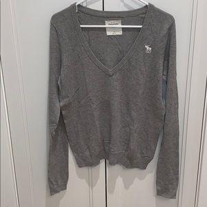 Abercrombie grey sweater